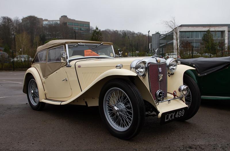 1949 MG TC Midget