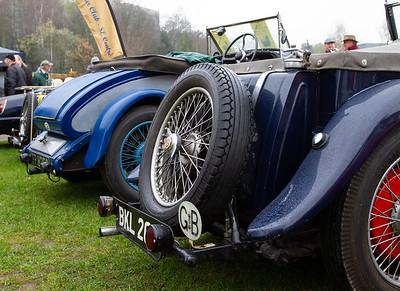 1940s MG T-type Midget