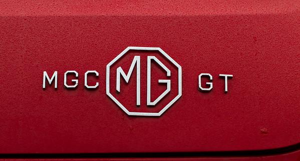 1960s MGC GT Badge