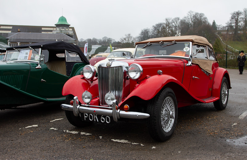 1954 MG TD Midget