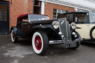 1935 Jensen-Ford Sport Tourer
