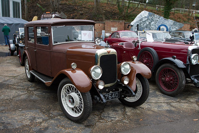 1927 - Alvis 12/50 Alvista Saloon