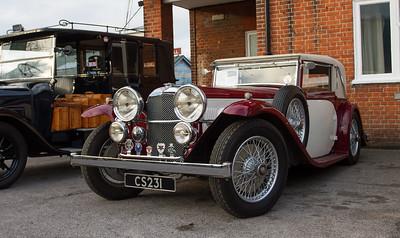 1934 Alvis Speed Twenty SB Charlesworth Coupe