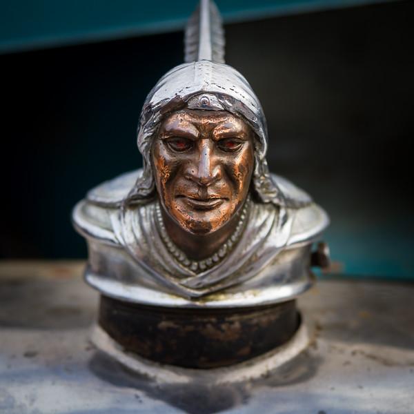 Indian Head Mascot - 1928 Pontiac Six