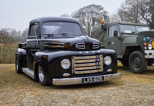 Ford F1 custom pickup truck
