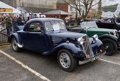 1938 - Citroen light 15 coupe