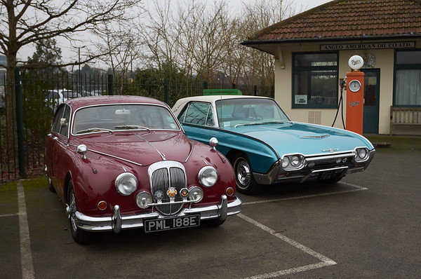 Daimler and Ford Thunderbird