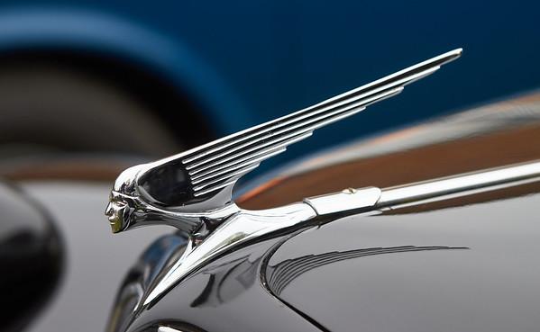 1950 - Citroen Traction Avant Car Mascot
