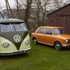 1969 VW Micro Bus / 1972 Austin 1100