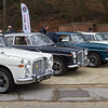 Line-up of Rover P5'S