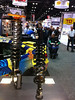 50mm inverted struts for a Rally car in the Moton/AST booth
