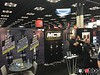 We started the show at the MCS booth - Motion Control suspension. This is the main shock line carried by Vorshlag