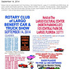 sept 14 rotary car show