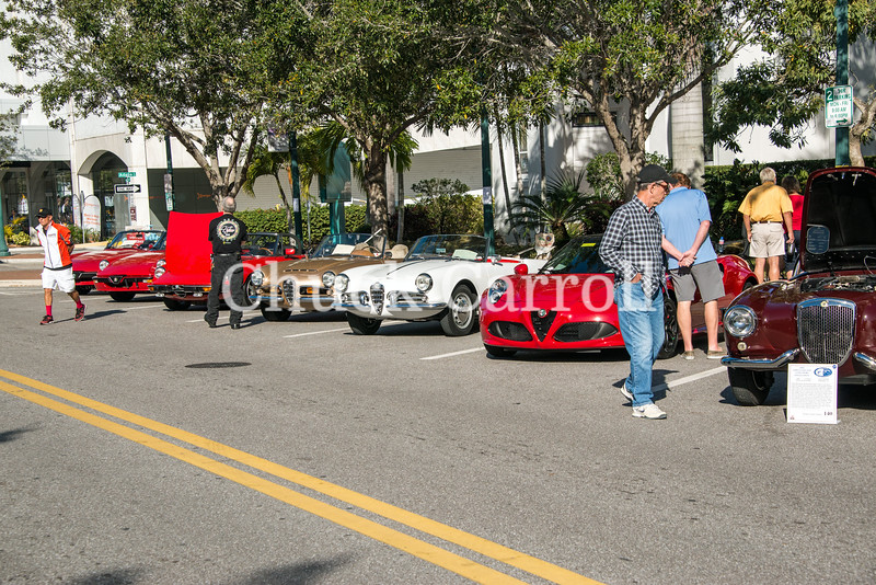 Sarasota Exotic Car Fest Downtown Concourse – Chuck Carroll