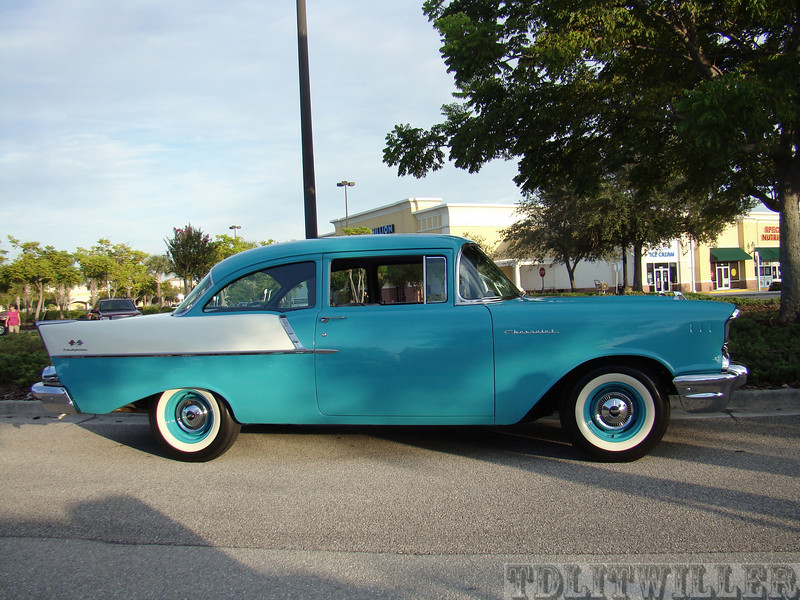 Fuel injected 1957 Chevy