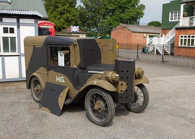 """1933 - Austin Seven Light Van """"Autogopasta"""""""