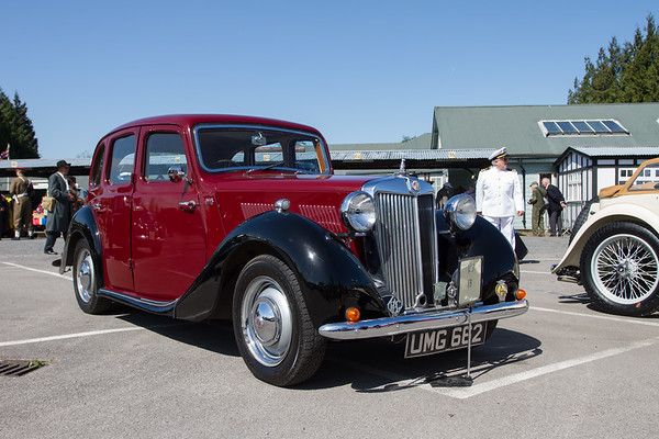 1952 MG YB Saloon