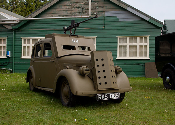 "Standard Replica Armoured Car ""23rd Sussex Home Guard"""