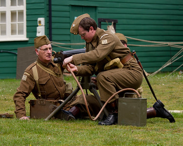Vickers Machine Gun Practise, 23rd Sussex home Guard