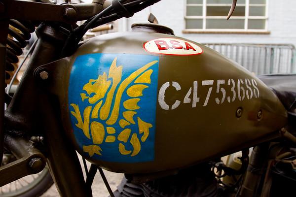 BSA Miltary Motorcycle