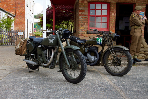 1940 - Matchless G3 and BSA Miltary Motorcycle's
