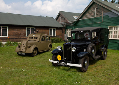 Bedford 8 cwt Van  '23rd Sussex Home Guard""