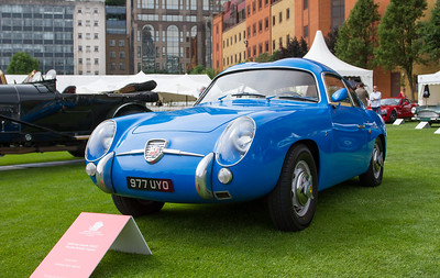 1959 - Fiat-Abarth 750GT 'Double Bubble' Zagato