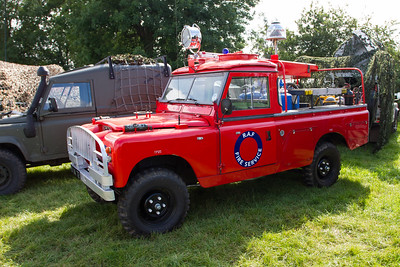 RAF Fire Service - Land Rover
