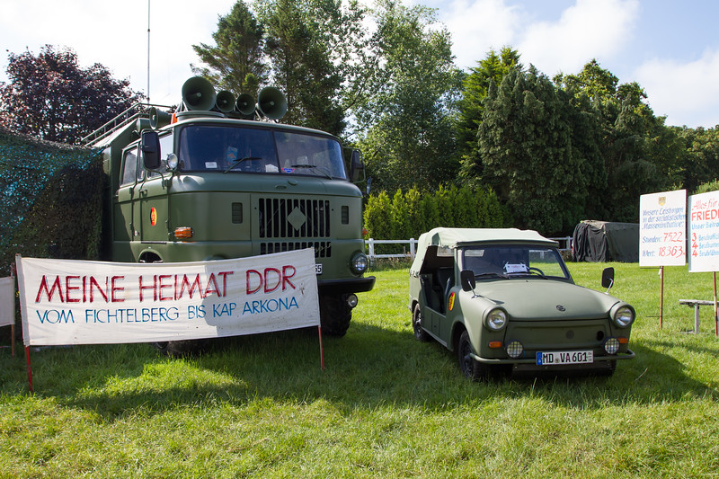 1974 - IFA W50 Lorry and 1980 - Trabant Kubel