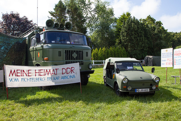 1974 - IFA W50 Lorry and 1980 - Trabant Kubel
