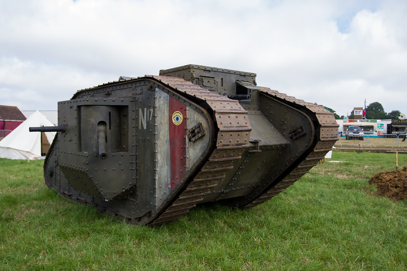 1917 - British Mk.IV female Tank
