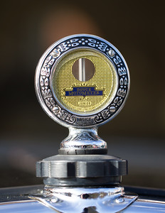 Boyce Motometer on a Austin Seven Van