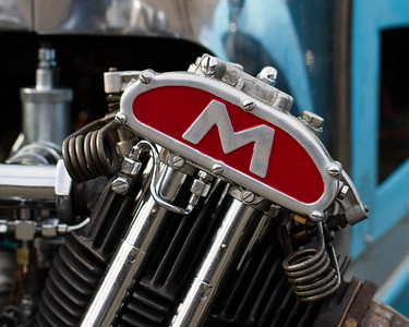 Matchless Engine on a Morgan Three Wheeler