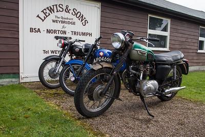 1969 Triumph Motorcycle