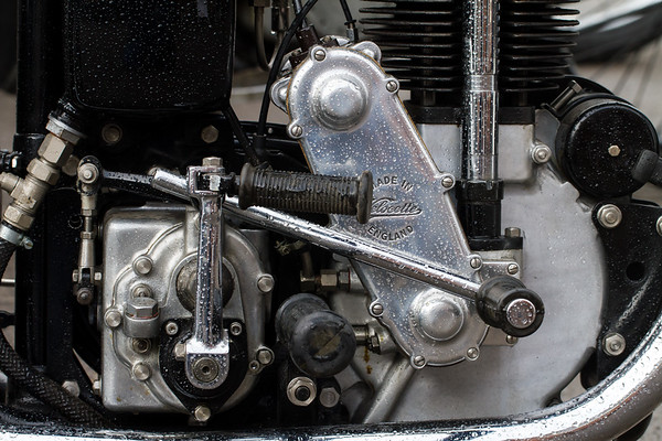 Velocette Motorcycle Engine
