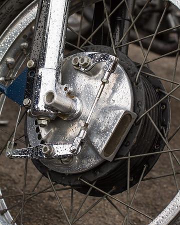 Velocette Motorcycle Front Brake