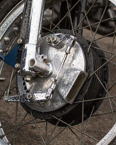 Velocette Motorcycle Front Brake