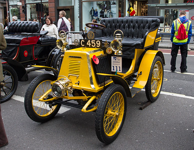 1901 - Renault 4.5hp Tonneau Body