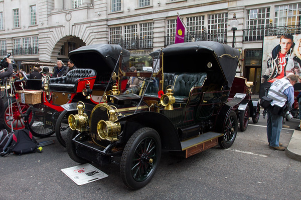 1904 Gardner-Serpollet 18hp Tulip Phaeton Body (Steam Car)