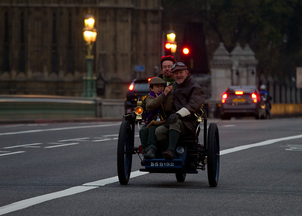 1898 - Leon Bollee 2hp Tandem Two-Seater