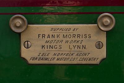 1900 - Daimler Type 2 6hp Four-Seater Body