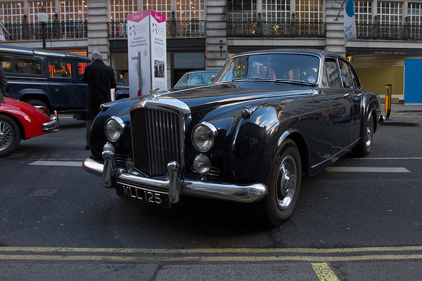 1957 Bentley S1 Continental Flying Spur by H.J. Mulliner