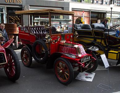 1904 - De Dion Bouton 8hp Tonneau with Surrey Top Body