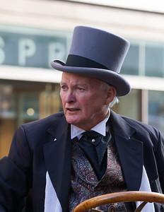 Man in Edwardian Costume