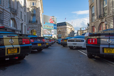 50 Years of The Mustang - The Regent Street Motor Show