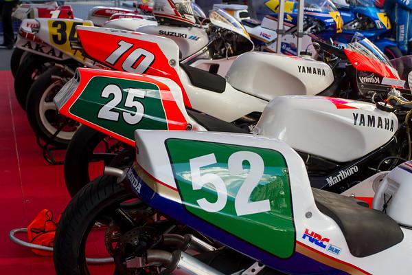 World GP Bike Legends - The Regent Street Motor Show