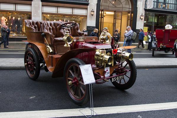 1902 Panhard et Levassor 10 Hp Rear-Entrance Tonneau Body