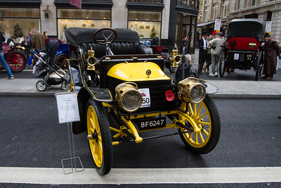 1904 - Wolseley 8hp Tonneau Body