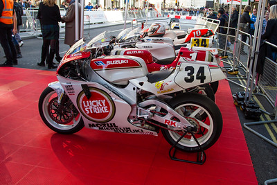 World GP Bike Legends - The Regent Street Motor Show