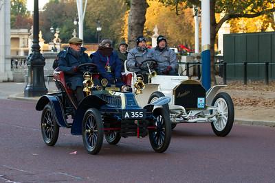 1903 - De Dion Bouton 6hp Two-seater   & 1902c - Mercedes Simplex 40hp Tonneau